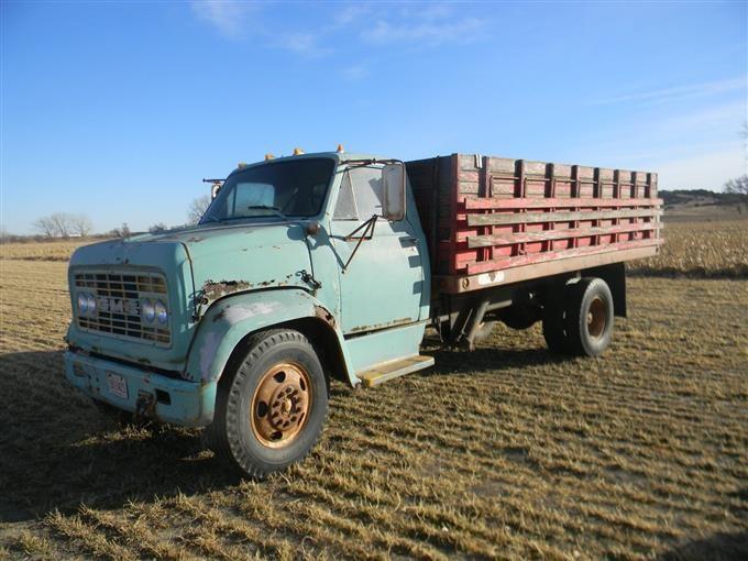 1967 GMC V4000 Grain Truck BigIron Auctions