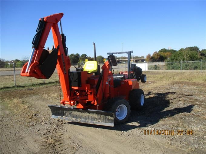 Ditch Witch R65-2 Trencher Backhoe W/Blade BigIron Auctions