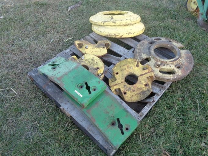 John Deere Tractor Counterweights : Bigiron