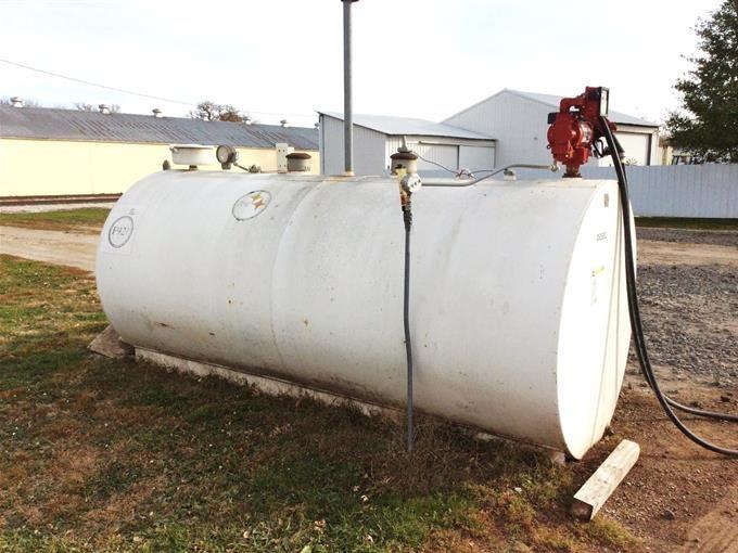 2000 Gallon Diesel Fuel Tank BigIron Auctions