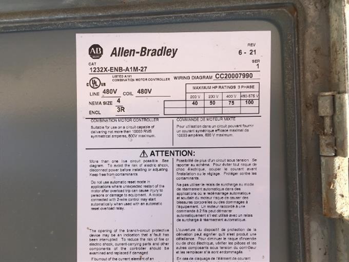 Allen-dley Disconnect/Breaker Boxes BigIron Auctions on