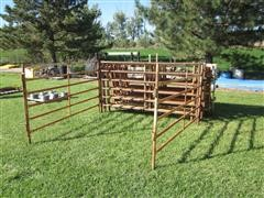 "Wedeking MFG 9' X 5' 1 5/8"" Pipe Fence Panels"