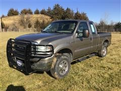 2006 Ford F250 XL Super Duty Extended Cab Diesel 4X4 Pickup