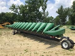 1999 John Deere 1293 12 Row Corn Head