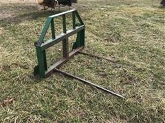 John Deere Dual Hay Spear Attachment