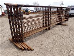D&S Tall Heavy-Duty Freestanding Livestock Panels
