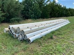 "10"" X 31' Gated Irrigation Pipe"