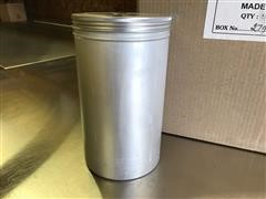 2.5 Ltr Aluminum Food Grade Canisters