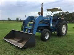 1978 Ford 7700 2WD Tractor W/Loader
