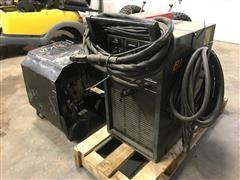 Blue-Point Plasma 230 Cutter & John Deere AC1-5GR Hand-Carry Gas Air Compressor