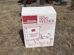 Brower Double Door Hog Feeder