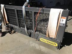 2015 Palfinger E38-60 Cable Gate Grated Platform Liftgate