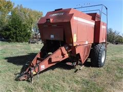 Hesston 4800 Big Square Baler For Parts Or Salvage