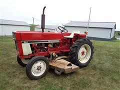 1977 International 284 Compact Utility Tractor W/Belly Mower