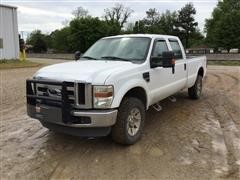 2008 Ford F350 4x4 Extended Cab Pickup
