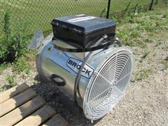 "2011 Brock AXH24-N/PV-HL 24"" Axial Bin Heater"