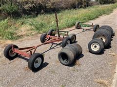 John Deere & Stanhoist Running Gears & Wagon Tire Assortment