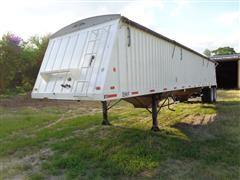 2009 DMF GT 2 42 T/A Steel 42' Grain Trailer