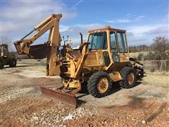 Case 760 Trencher W/Backhoe & Blade