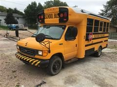2005 Ford E-450 Super Duty Blue Bird 19 Passenger School Bus