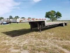 2001 Wilson CFD-900 T/A Drop Deck Trailer