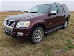 2006 Ford Explorer Limited Sport Utility Vehicle