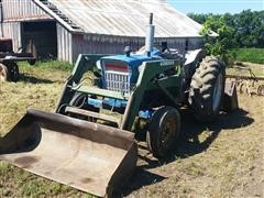 1973 Ford 4000 D1014C Tractor