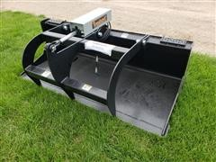 2019 Tomahawk 3012 Skid Steer Bucket With Grapple