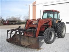 1989 Case IH 1896 MFWD Tractor