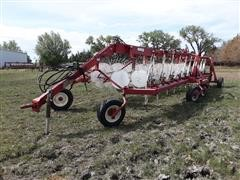 2013 Rowse 20 Wheel V Rake W/Center Kicker