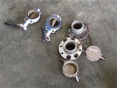 """4"""" Butterfly Valves & End Caps"""