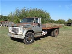 1969 GMC 5500 Flatbed Dump Truck