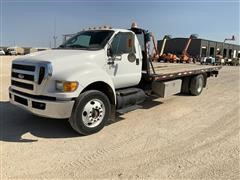 2013 Ford F750XLT S/A Rollback Truck
