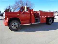 1980 Chevrolet CC6D042 S/A 3 Ton 1200 Gal Tanker Truck