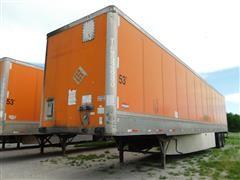 2005 Wabash Duraplate 53'X102'' Van Trailer