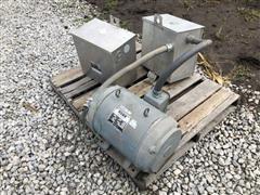 Ronk Rotoverter Rotary Transformer