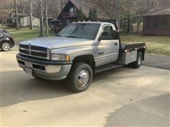 1998 Dodge 3500 Flatbed Pickup