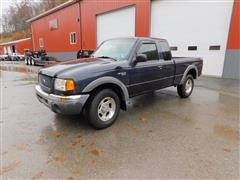 2003 Ford Ranger XL 4x4 Extended Cab Pickup