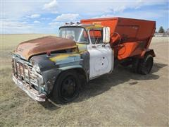 1958 Chevrolet Silage Feeder Truck For Parts