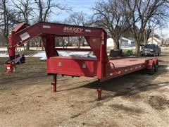 2015 Maxey A620 Drop-N-Load T/A Flatbed Trailer