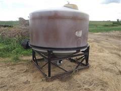 1000-Gal Cone Bottom Liquid Tank
