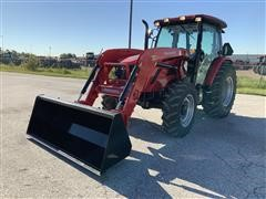 Mahindra 8090 4WD Compact Utility Tractor W/Loader