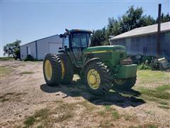1992 John Deere 4560 MFWD Tractor