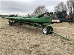 2005 John Deere 1293 Corn Header & Trailer