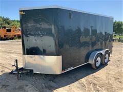 2018 Doolittle 7' X 16' T/A Enclosed Cargo Trailer