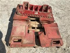 Case IH Front Tractor Suitcase Weights & Brackets