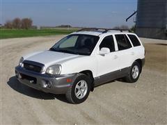 2002 Hyundai Santa Fe GLS 4X4 SUV