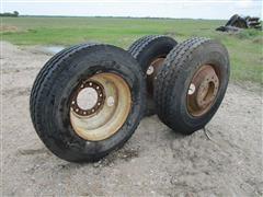 BF Goodrich ST576 11R22.5 Truck Tires On Rims