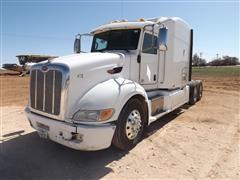 2011 Peterbilt 386 T/A Sleeper Truck Tractor