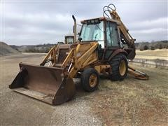 Case 580K 2WD Loader Backhoe